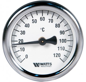 "Термометр Watts - 63 x 1/2"" x 0/120°C"