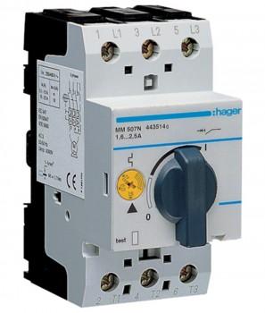 MM509N Автомат для защиты двигателя Hager ток 4А-6А