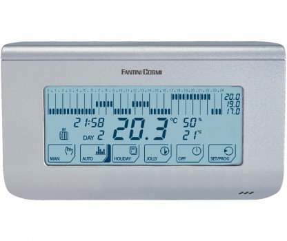 Термостат комнатный недельный Polvax CH-150