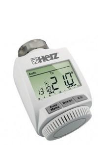 Цифровая термоголовка HERZ ETKF+ с интегрированным приемником - М28х1.5
