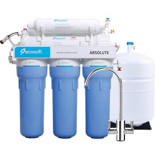 Система обратного осмоса Ecosoft Absolute с минерализатором (MO650MECO)
