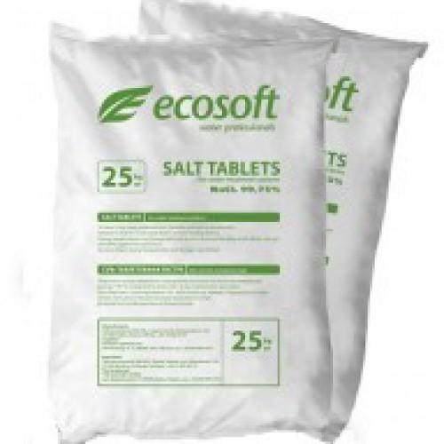Таблетированная соль ECOSOFT - 25 кг ECOSIL