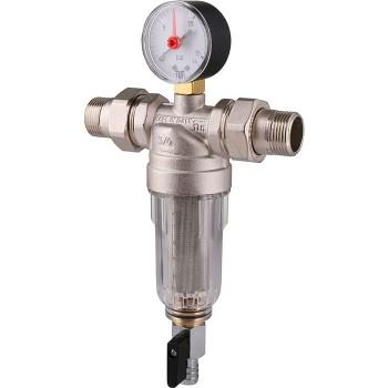 """Фильтр самопромывной для холодной воды Tiemme - 1"""""""