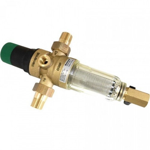 """Фильтр самопромывной с редуктором для холодной воды Honeywell FK06 - 1/2"""" АА"""