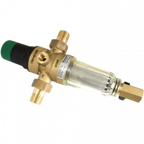 """Фильтр самопромывной с редуктором для холодной воды Honeywell FK06 - 3/4"""" АА"""