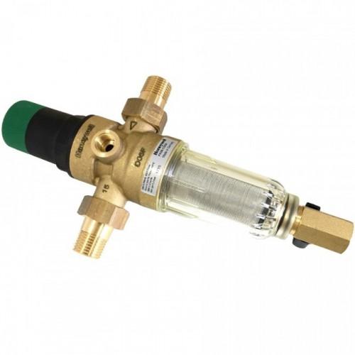 """Фильтр самопромывной с редуктором для холодной воды Honeywell FK06 - 1"""" АА"""