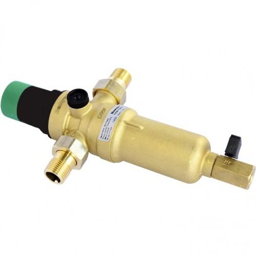 Фильтр самопромывной с редуктором для горячей воды Honeywell FK06-1/2 ААM