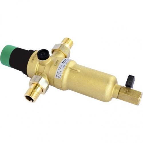Фильтр самопромывной с редуктором для горячей воды Honeywell FK06-1 ААM