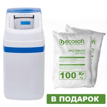 Фильтр умягчения воды Ecosoft FU 1018 CAB CE (кабинетного типа)
