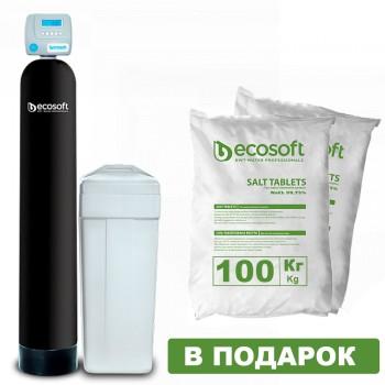 Фильтр умягчения воды Ecosoft FU 0844 CE (колонного типа)